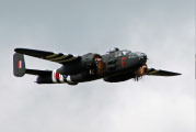 B-25 fly by